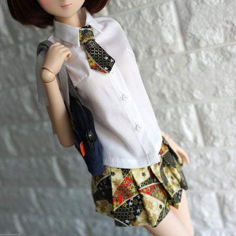 Mirai High School Uniform (Wagara Black)