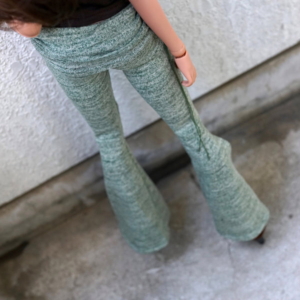 Hippie Pants (Khaki Green)