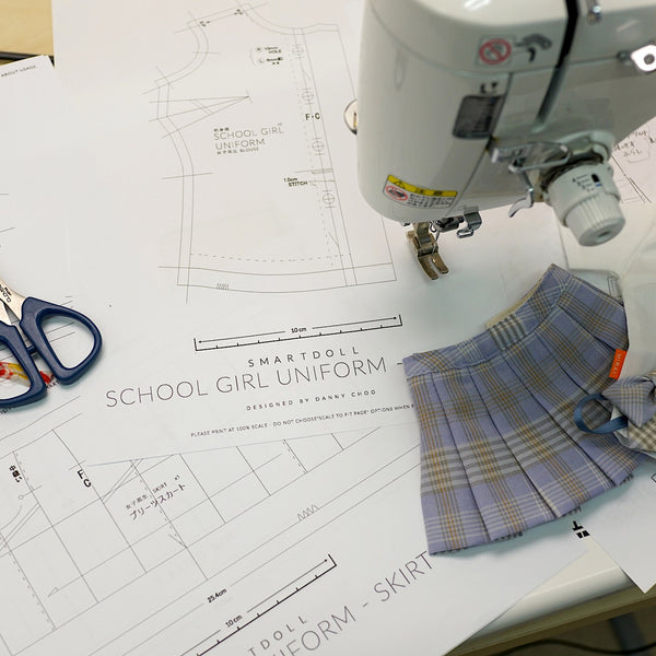 School Girl Uniform Pattern