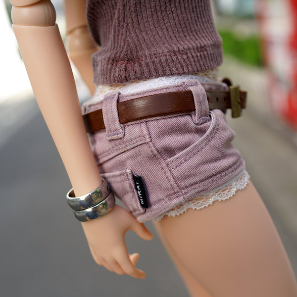 Short Jeans (Pastel Purple)