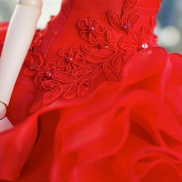 Bridal Gown 2016 (Red Rose)
