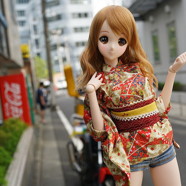 Short Yukata Red