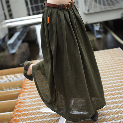 Flaire Skirt (Green)