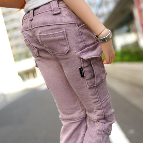 Cargo Pants (Pastel Purple)