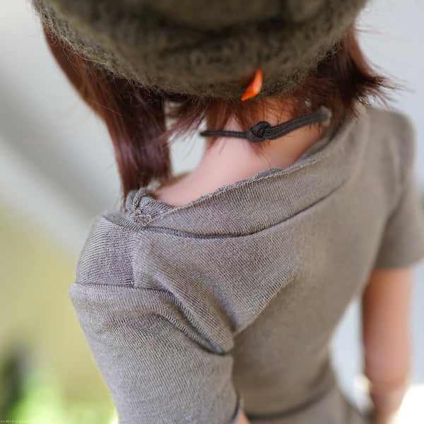 Frayed T-Shirt (Vintage Khaki Green)