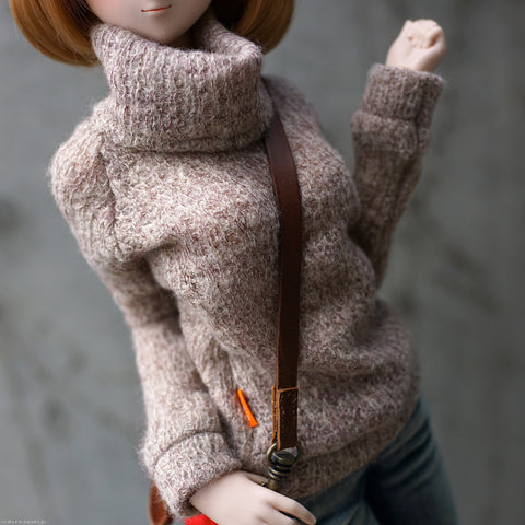 Knit Sweater (Rusty Brown)