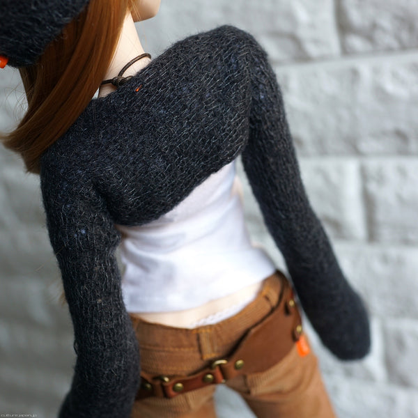 Long Sleeve Bolero Shrug & Neck/Head band