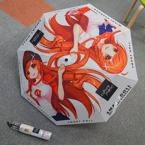 Smart Doll Umbrella (for humans)
