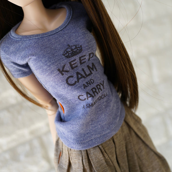 Keep Calm T-shirt (Purple)