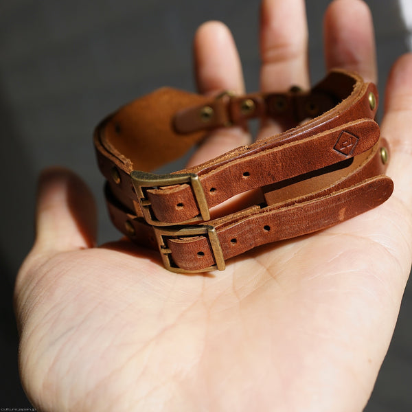 Double Belt (Brown)