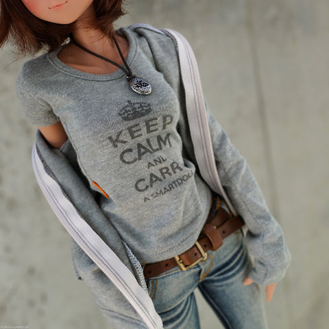 Keep Calm T-shirt (Khaki Green)