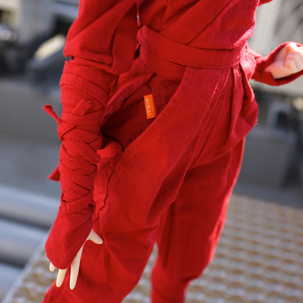 Ninja Uniform (Red)