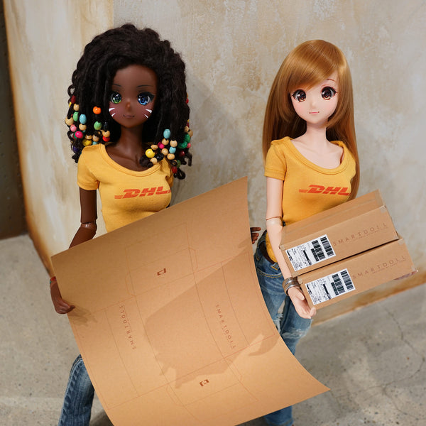 Smart Doll Box Papercraft Cut Out
