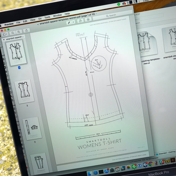 Smart Doll Apparel Patterns