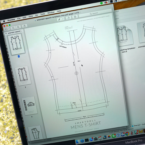 T-shirt & Trouser Apparel Patterns
