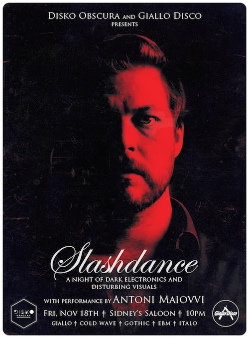 Slashdance 6th Anniversary Party with Antoni Maiovvi