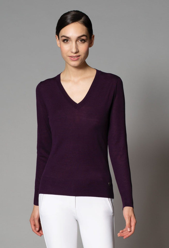 Asmar Serena Merino V Neck Sweater