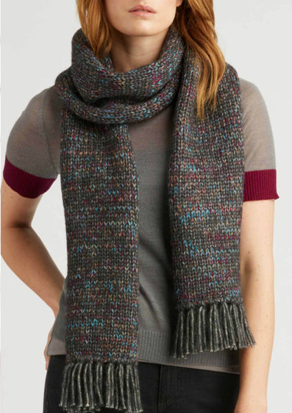 Indigenous Alpaca Color Mix Scarf