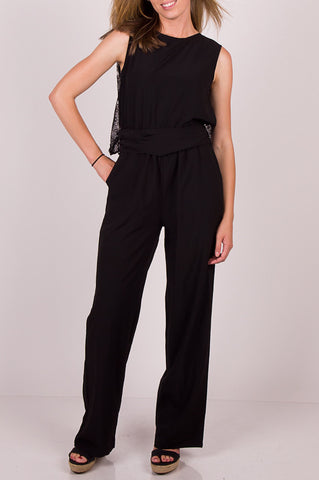 RYU Lace Back Jumpsuit - Final Sale