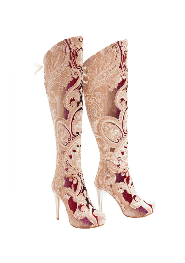 Zeyzani Smyrna Stiletto Boot