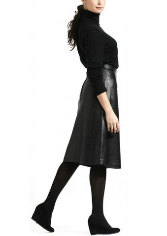 Tanners Avenue A-Line Leather Skirt