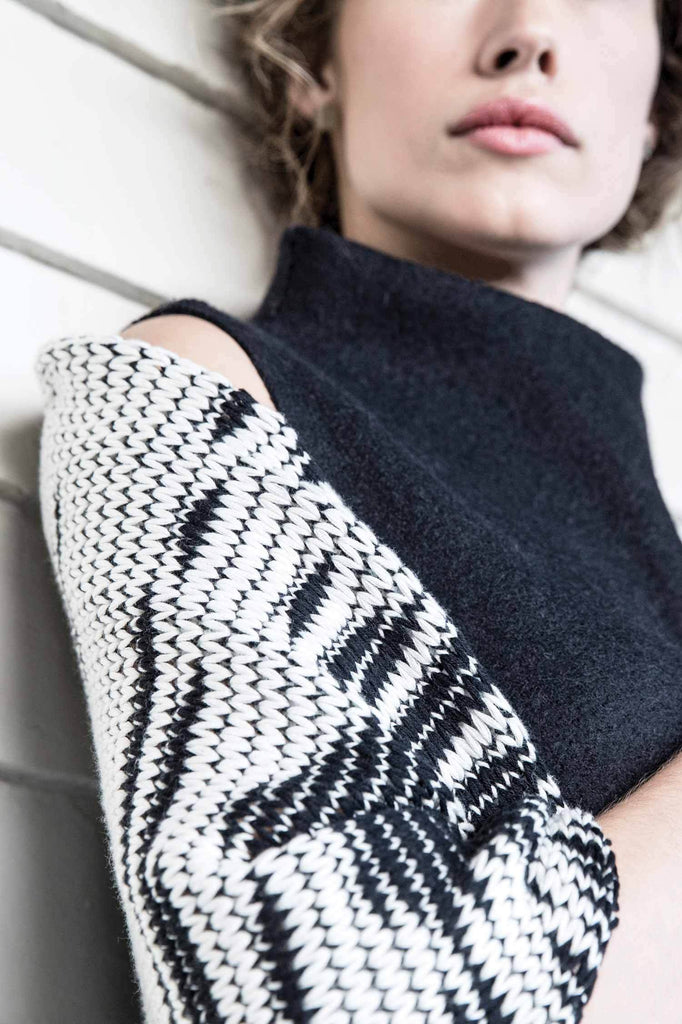 Indigenous Amaru Knit Wrap