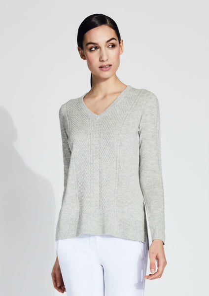 Asmar Grace V-Neck Cashmere Sweater