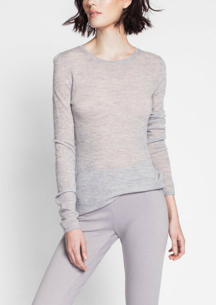 Asmar Juno Long Sleeve Tissue Knit Sweater