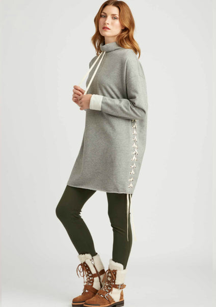 Indigenous Cocoon Lace Up Tunic
