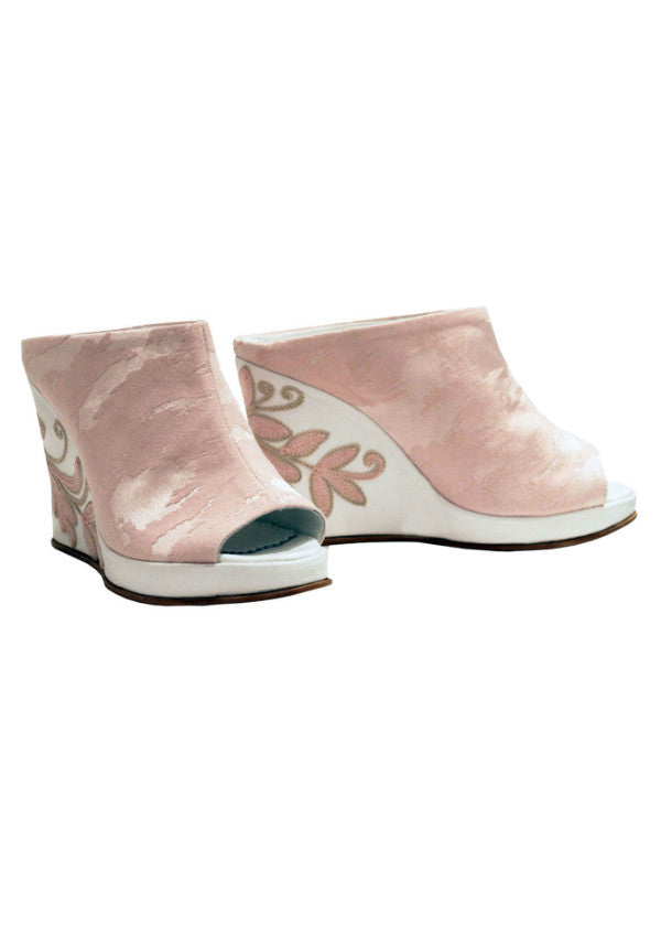 Zeyzani Pink Wedge