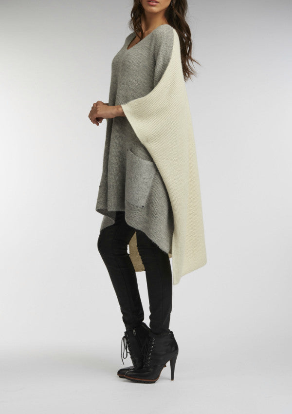 Indigenous Patch Pocket Poncho