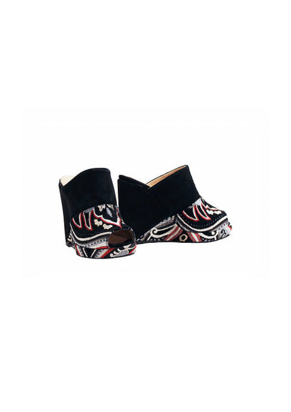 Zeyzani Dark Angel Wedge - Slip On