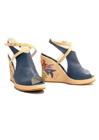 Zeyzani Blue Wedge