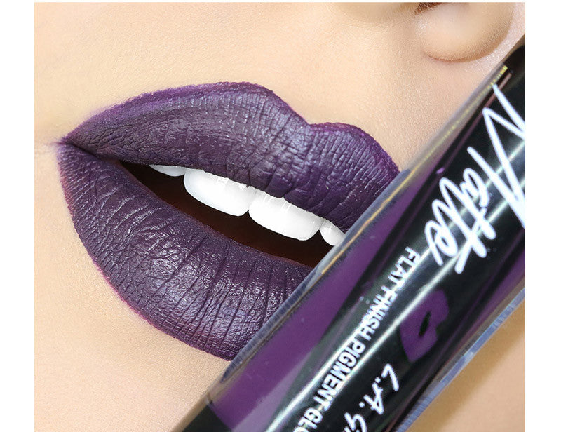 Black Currant Matte Liquid Lipstick by LA Girl