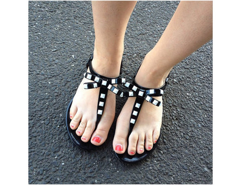 Blackbird Black Jelly Shoes