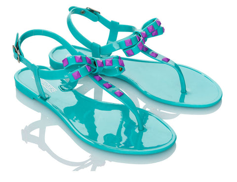 Bluebird Aqua Jelly Shoes