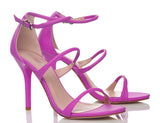 Bon Soir Orchid Purple High Heels