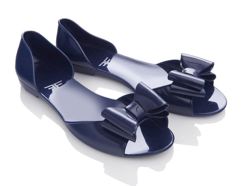 Duskfly Navy Jelly Shoes