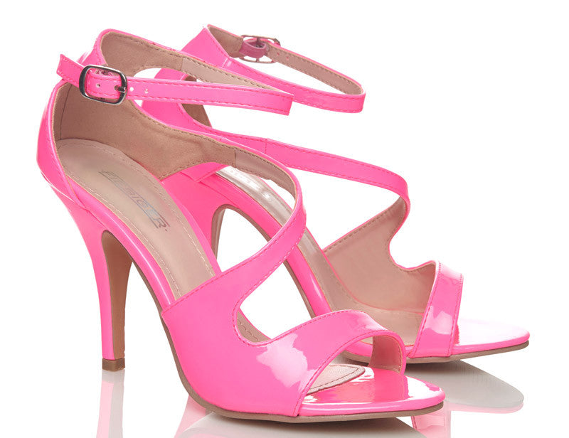Fruit Tingle Neon Pink High Heels