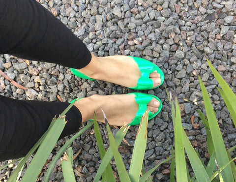 Greenfly Jelly Shoes