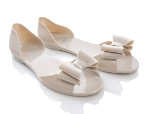 Sandfly Nude Beige Jelly Shoes