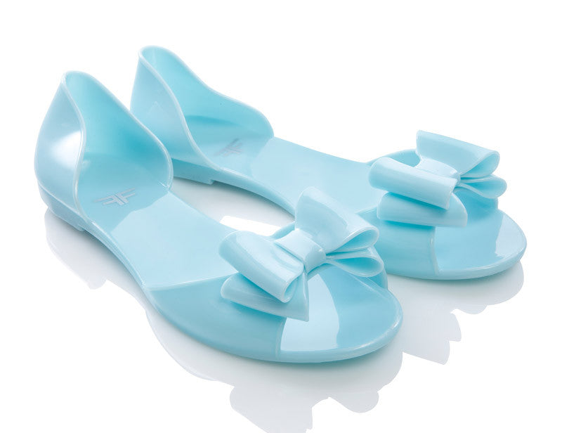 Sherbetfly Light Blue Jelly Shoes