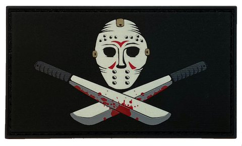 Glow in the dark - Friday the 13th - PVC Morale Patch