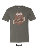 The Beard Is Strong Short Sleeve T-Shirt - F-Bomb Morale Gear