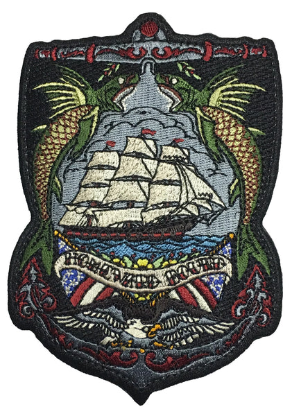 """Homeward Bound"" Embroidered Morale Patch - F-Bomb Morale Gear"