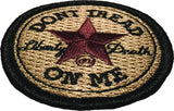 Don't Tread On Me - All Star - Embroidered Morale Patch - F-Bomb Morale Gear