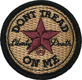 """Don't Tread On Me - All Star""  Embroidered Morale Patch - F-Bomb Morale Gear"