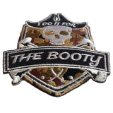 """For The Booty"" Embroidered Morale Patch - F-Bomb Morale Gear"