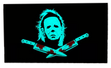 Glow in the dark - Michael Myers, Halloween - PVC Morale Patch
