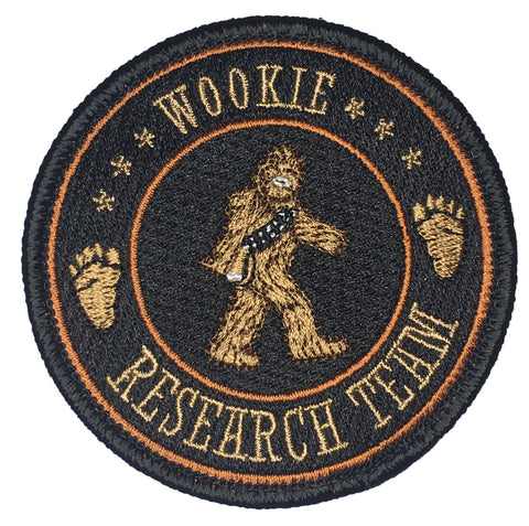"""Wookie Research Team"" Embroidered Morale Patch - F-Bomb Morale Gear"